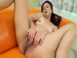 This japanese cougar Does Not Need Anyone To Help Get Her Off