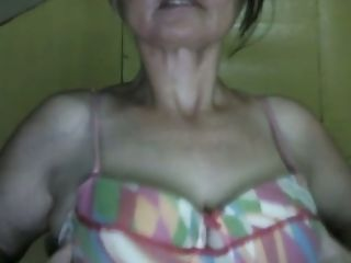 This mature damsel enjoys her humungous saggy bra-stuffers and she's a ultra-cute web cam performer
