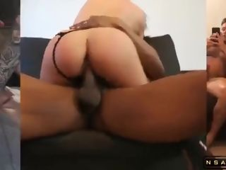 Fantastic Large-Breasted US mom Gets handled To A horny multiracial Threesome lovemaking