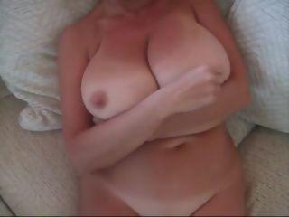 Jizz on 50 year senior phat jaw-dropping titties