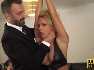 Harsh domination & submission sir Pascal buggers fresh cougar