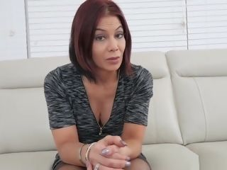 Cougar red-haired step-mother smashed By A son-in-law In point of view vid
