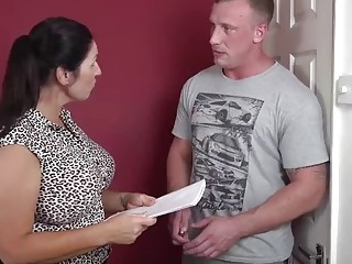 Ass huge-boobed mother fellate and bang lucky son-in-law