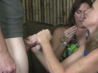 Mummy and her enormous breasted pal
