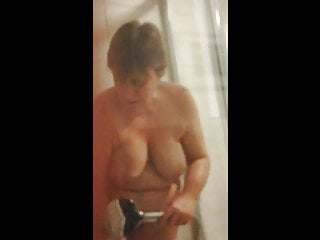 Individual views of huge-titted mature wifey