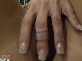 Nikki Sims naked Finger Vibe Brighter