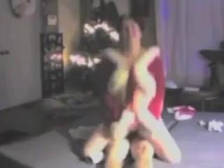 Christmas xxxmas super-banging-hot deep throating and banging