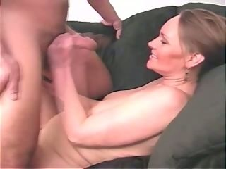 Abnormal chunky first-timer huge-titted mature dame is blessed to jack pipe