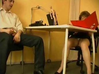 Mature professor and youthful schoolgirl