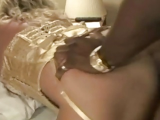 Ample blondie wifey used by dark-hued fellows