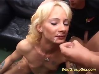 My moms very first gang-fuck lovemaking