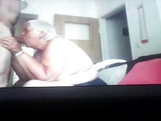 Ambitious granny....