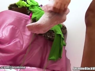 Jasmine dark-hued in Lets have fun sundress Up - Jasmine dark-hued movies