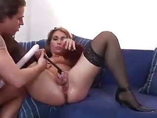 Evelina - pumped coochie, anal invasion and going knuckle deep