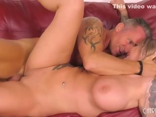 Super-sexy blondie, Karma RX is providing a deep throat to a stud she wants to tear up