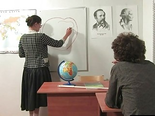 Russian instructos choose additional lessons with lagging college girls 1
