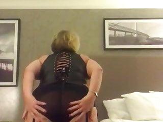 Steamy ash-blonde wiggling Titts Teasing big black cock . Plus-size Gilf nymphomaniac gimp