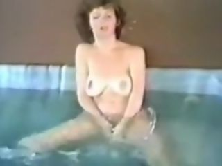 Hubby films his playful wifey who is always wild !