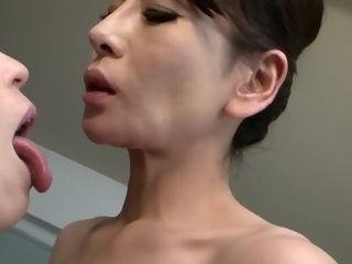 Best chinese model in best cuni, Mature JAV clamp